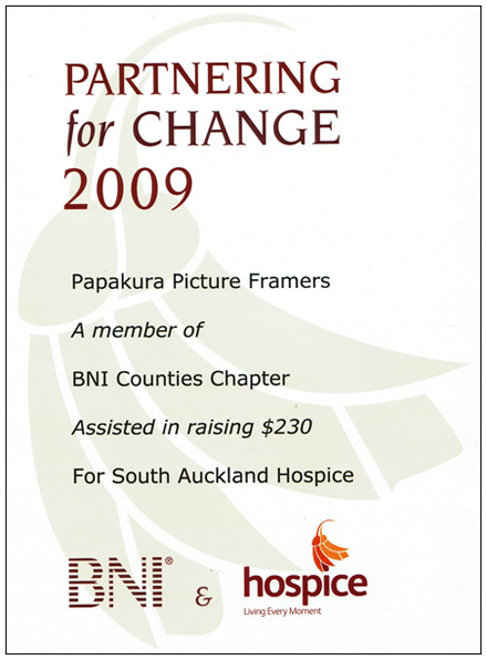South Auckland Hospice Awards